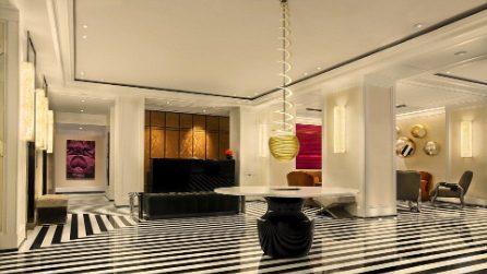 Gli interni della suite più cara d'America