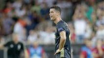 Cristiano Ronaldo espulso in Champions a Valencia
