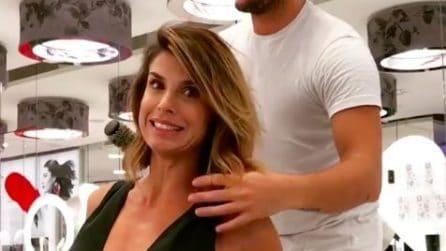 Il nuovo taglio di capelli di Elisabetta Canalis