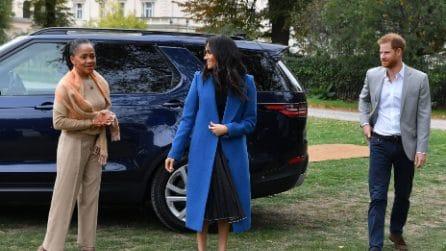 Meghan Markle con mamma Doria all'evento londinese
