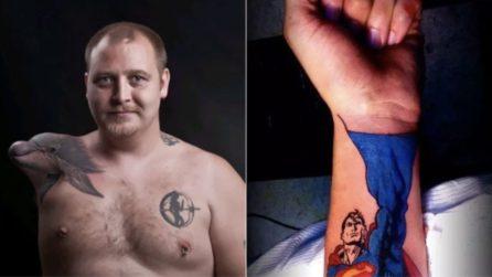 I tatuaggi più ingegnosi e divertenti a cui ispirarsi: questi scatti vi conquisteranno