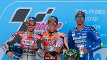 MotoGP, Marquez batte Dovizioso, Iannone sul podio