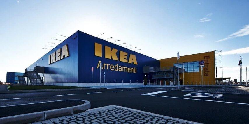 Il negozio IKEA di San Giuliano Milanese