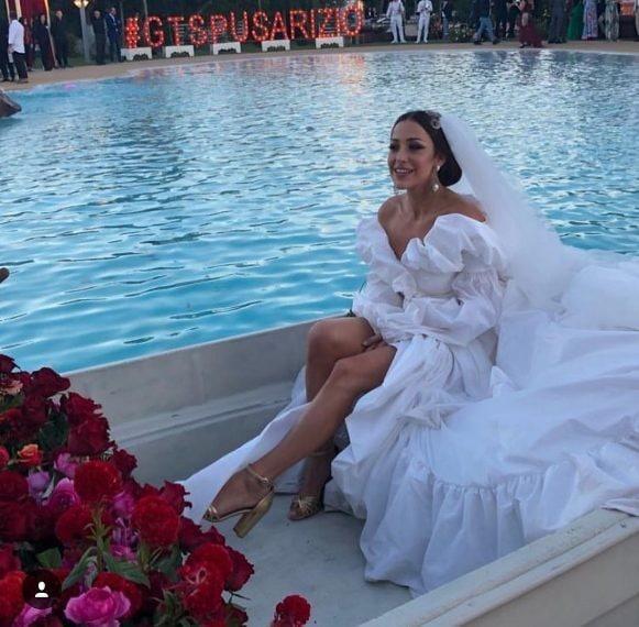 489ef08c2c58 Le foto del matrimonio di Teresanna Pugliese e Giovanni Gentile