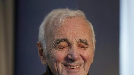 Le foto di Charles Aznavour