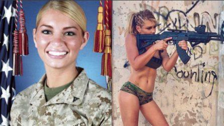 Le immagini della soldatessa più bella che abbiate mai visto