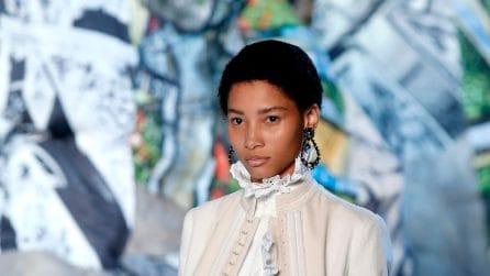Alexander McQueen collezione Primavera/Estate 2019