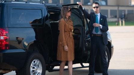 "Melania Trump: i look per il tour ""in solitaria"" in Africa"