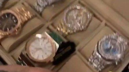 La collezione di orologi preziosi di Fedez e Chiara Ferragni