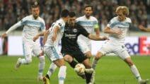 Europa League 2018/2019, le immagini di Eintracht-Lazio