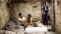 Francesco Monte e Giulia Salemi insieme nella caverna