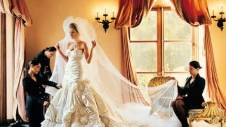 I 9 abiti da sposa più costosi della storia