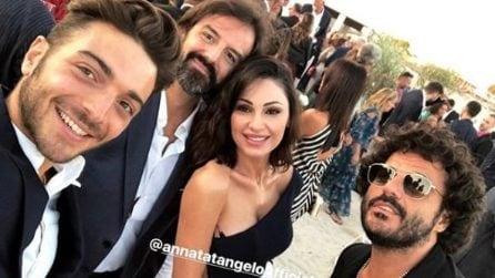 Tanti vip al matrimonio di Ferdinando Salzano e Barbara Zaggia