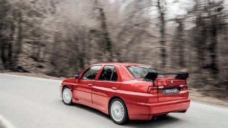 Dalle corse alla strada, all'asta l'unico esemplare di Alfa Romeo 155 GTA Stradale
