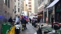 Napoli, incendio a ristorante indiano: 3 intossicati