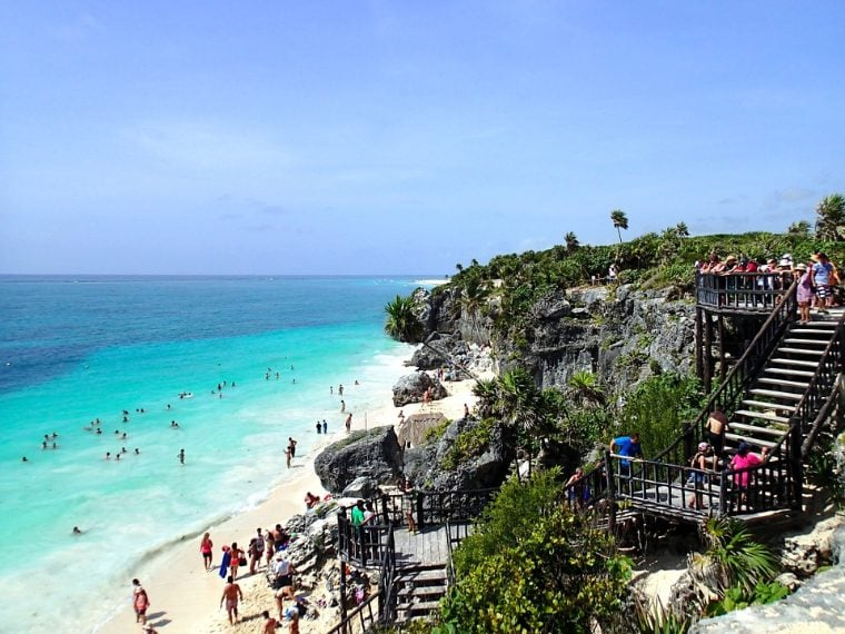 https://pixabay.com/it/tulum-messico-spiaggia-492642/