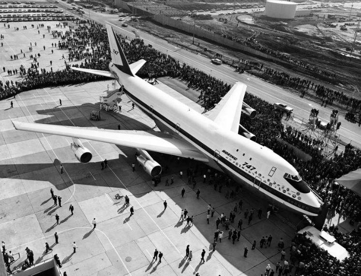 © / AFP / Getty Images / lancio del primo 747 il 30 settembre 1968