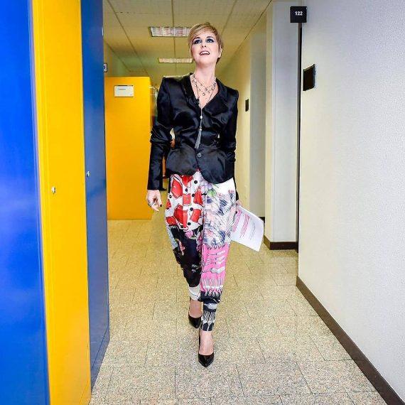 Look Vivienne Westwood, scarpe Loriblu