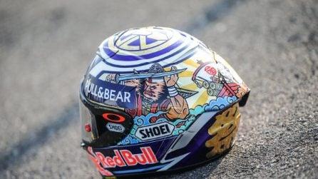Marquez, casco speciale per Motegi