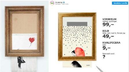 Le 10 risposte più creative a Banksy e il suo quadro distrutto