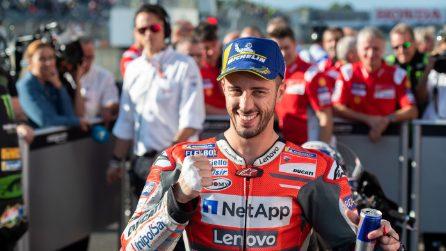 MotoGP, Dovizioso in pole a Motegi, Marquez in seconda fila