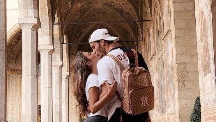 Nilufar e Giordano turisti a Napoli, la crisi tra Mazzocchi e la Addati è un ricordo