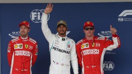 Hamilton re ad Austin, l'inglese in pole position anche nel GP degli Stati Uniti