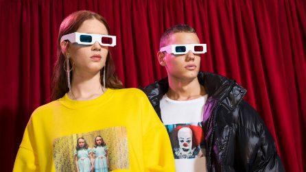 La collezione di felpe e t-shirt Bershka dedicata ai film iconici