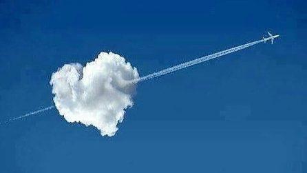 La nostra immaginazione può trasformare le nuvole in qualsiasi cosa