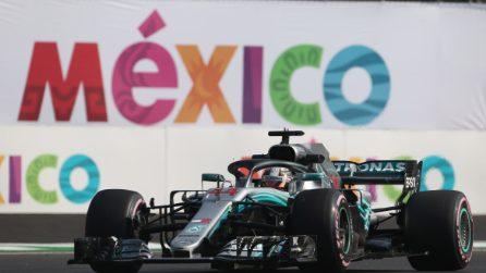 Hamilton prepara la festa mondiale, in Messico può diventare campione