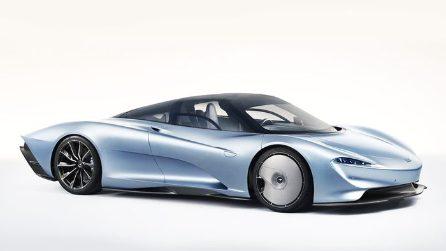Dalla F1 alla strada, ecco la McLaren Speedtail