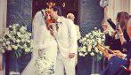 Le foto del matrimonio di Ilenia Lazzarin e Roberto Palmieri
