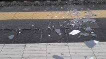 Circumvesuviana, piovono calcinacci nella stazione di Portici-Via Libertà
