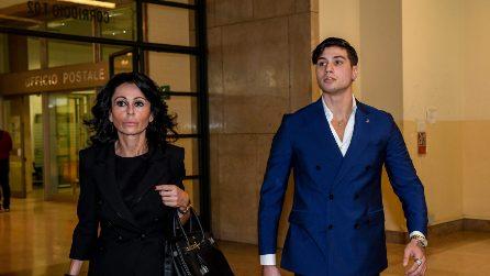 """Niccolò Bettarini in tribunale a Milano incontra i suoi aggressori: """"Provo solo rabbia"""""""