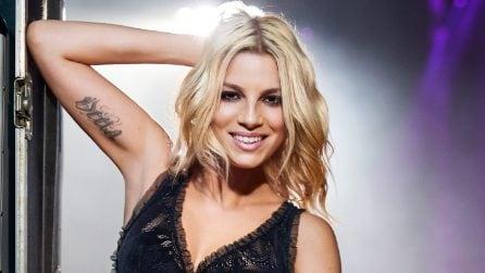 Emma Marrone posa per la nuova campagna pubblicitaria Tezenis