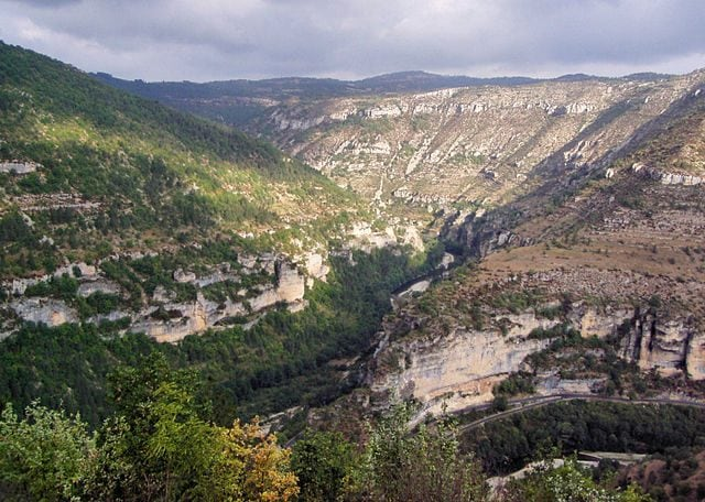 https://commons.wikimedia.org/wiki/File:Gorges_Du_Tarn,_Cevennes_National_Park,_France.jpg