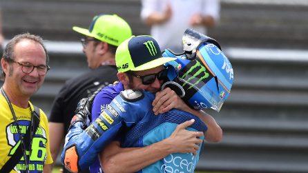 Seconda gioia per Valentino Rossi, Pecco Bagnaia campione Moto2