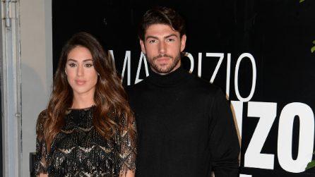 """I look di Cecilia Rodriguez e Ignazio Moser al """"Maurizio Costanzo Show"""""""
