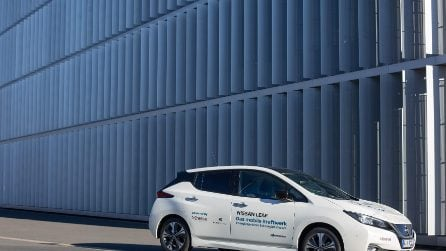 Nissan Leaf, in Germania è la prima elettrica con tecnologia Vehicle to Grid