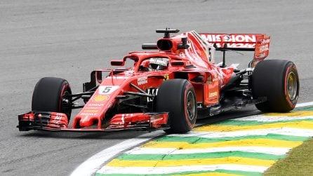 Mercedes-Ferrari, in Brasile è sfida per il mondiale costruttori