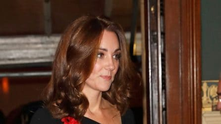 Meghan Markle e Kate Middleton in nero per il Remembrance Day