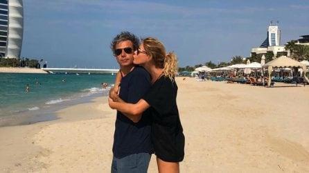Il 46esimo compleanno di Alessia Marcuzzi a Dubai
