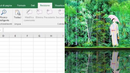L'artista giapponese capace di creare opere d'arte con Excel