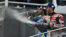 MotoGP, a Valencia vince Dovizioso. Rins e Espargaro sul podio