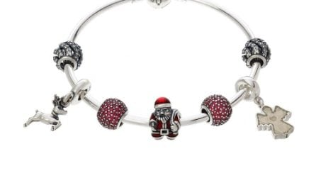 Pandora: i prezzi della collezione di gioielli per Natale 2018