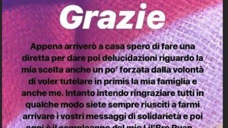 Veronica Satti torna su Instagram dopo le minacce di morte