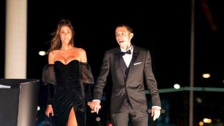 Valentino Rossi e Francesca Sofia Novello al Gala Fim
