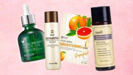 30 prodotti da utilizzare per la tua skincare coreana
