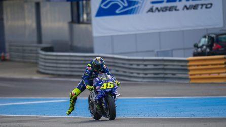 MotoGP, le foto di Rossi e Vinales nei test di Jerez