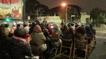 L'Auditorium di Pineta Sacchetti è ancora abbandonato: flash mob a due anni dal rogo